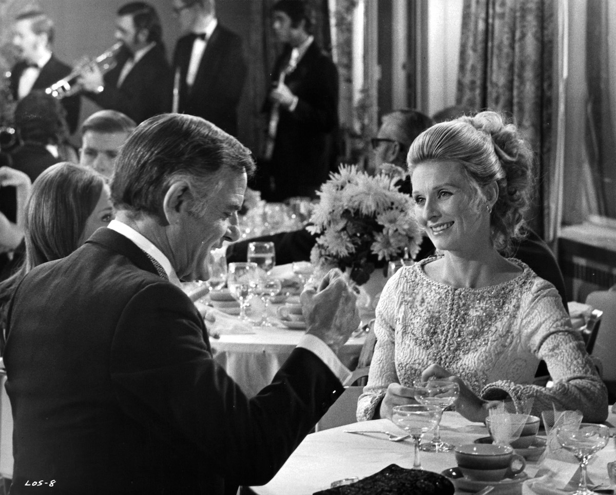 Gig Young And Cloris Leachman In 'Lovers And Other Strangers'