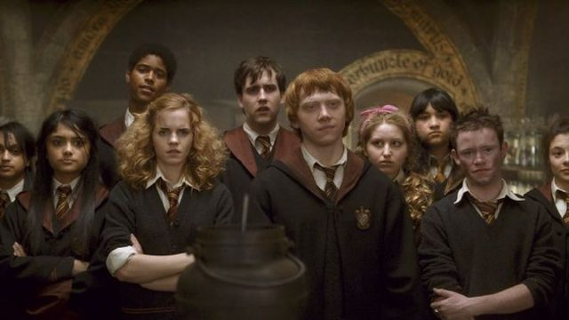 Scene from Harry Potter and the Half-Blood Prince