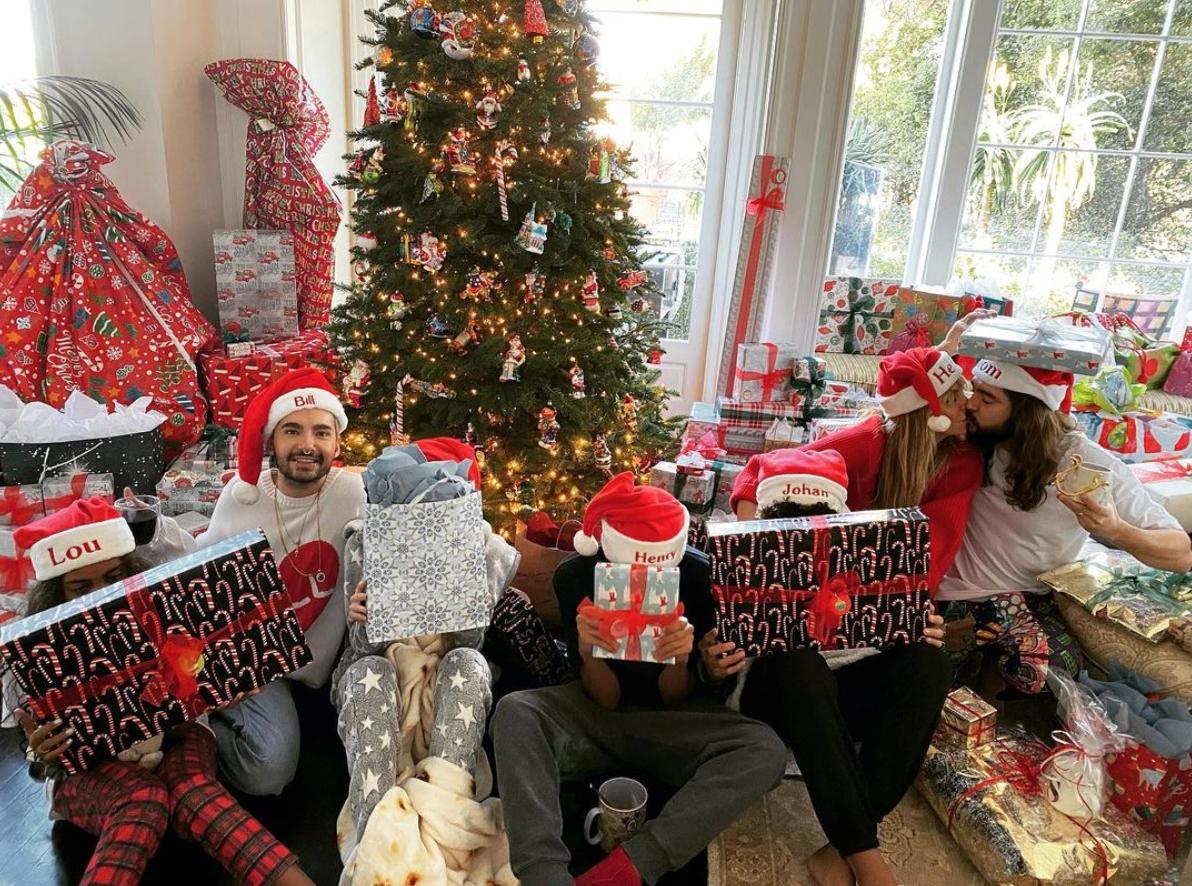 Heidi Klum family Christmas