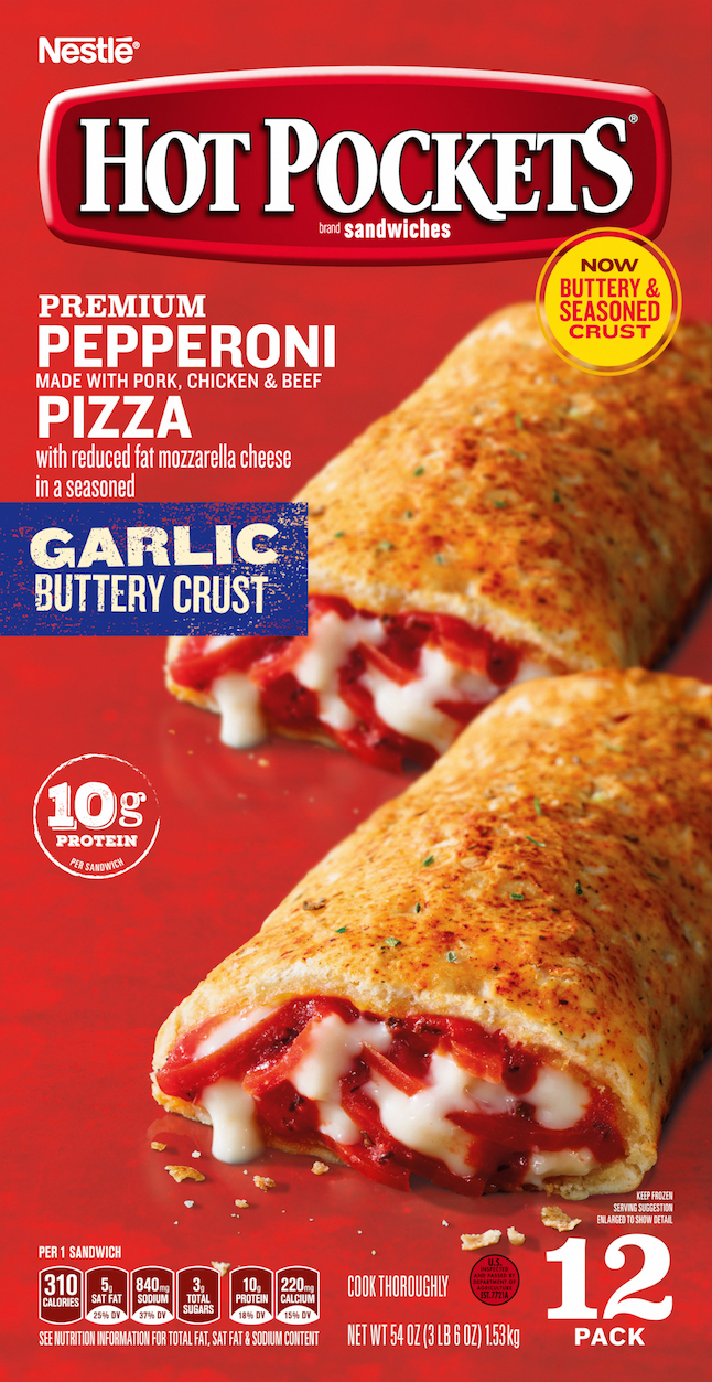 Recalled pepperoni pizza Hot Pocket