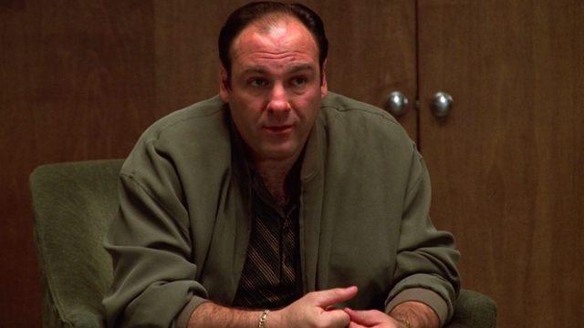 James Gandolfini in The Sopranos