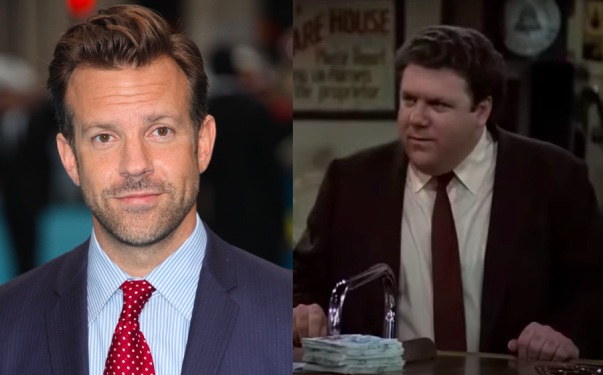 Jason Sudeikis and George Wendt