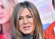 """Jennifer Aniston at the premiere of """"Murder Mystery"""" in 2019"""