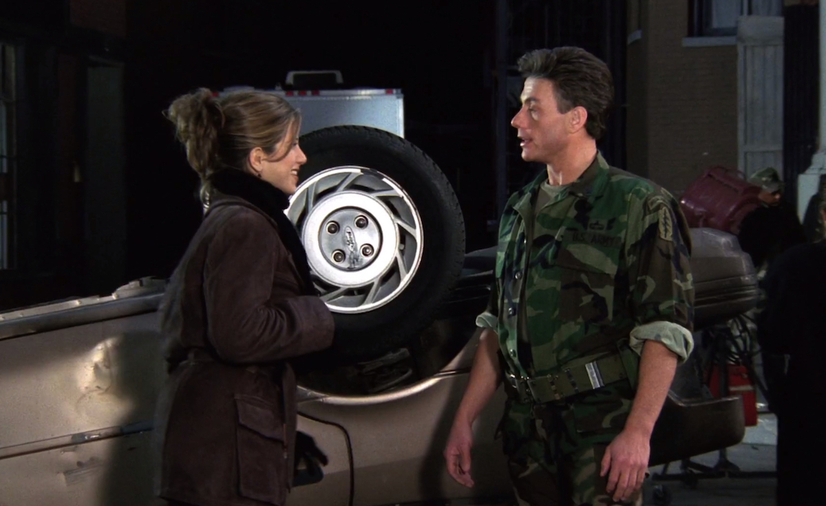 Jennifer Aniston and Jean-Claude Van Damme