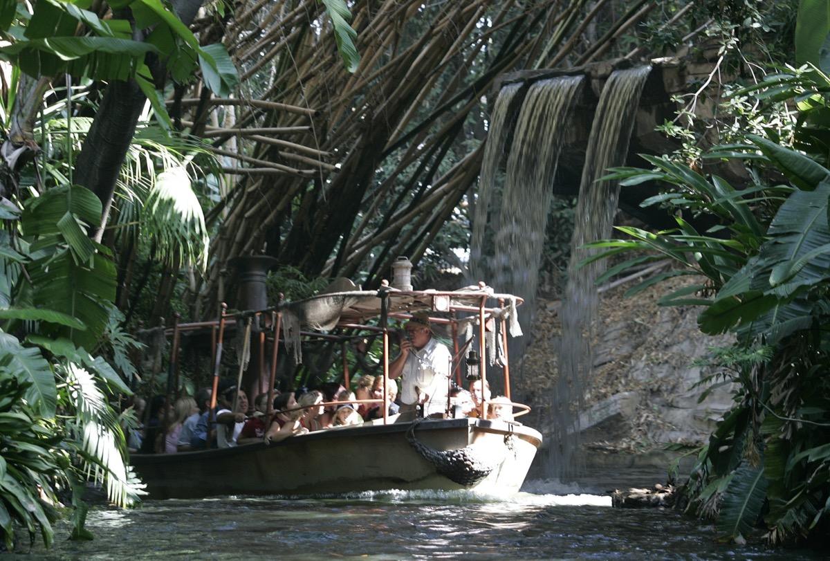 Disneyland Jungle Cruise ride