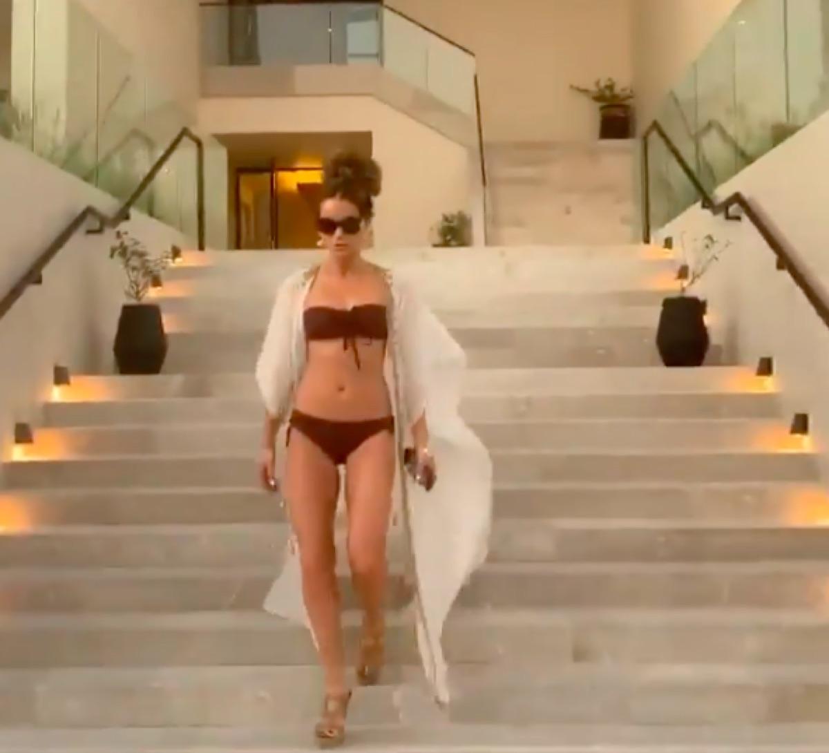 Kate Beckinsale in a bikini on her Instagram