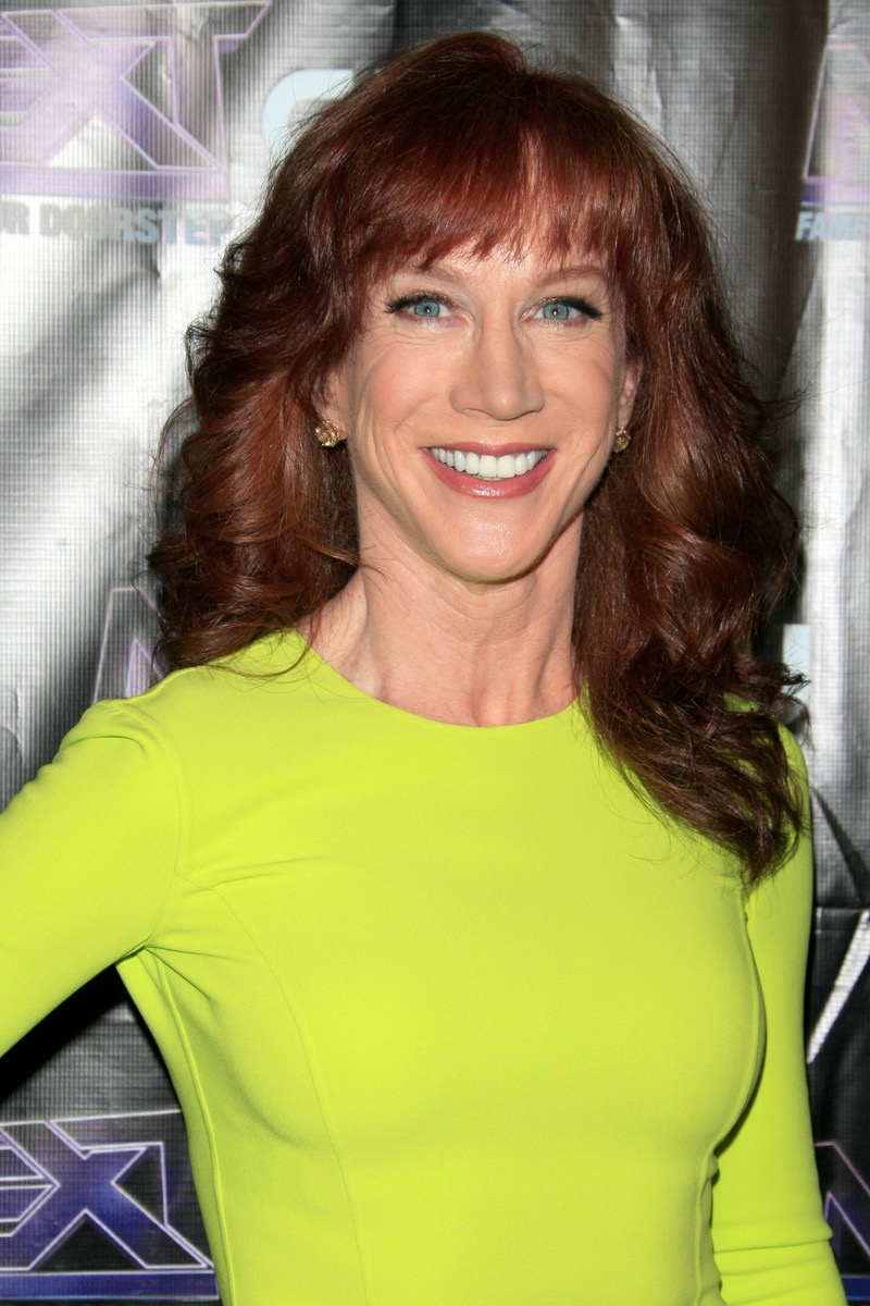 """Kathy Griffin at The CW """"The Next"""" afterparty in 2012"""
