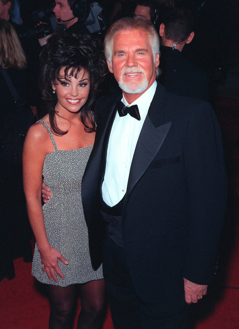 Kenny Rogers and Wanda Miller
