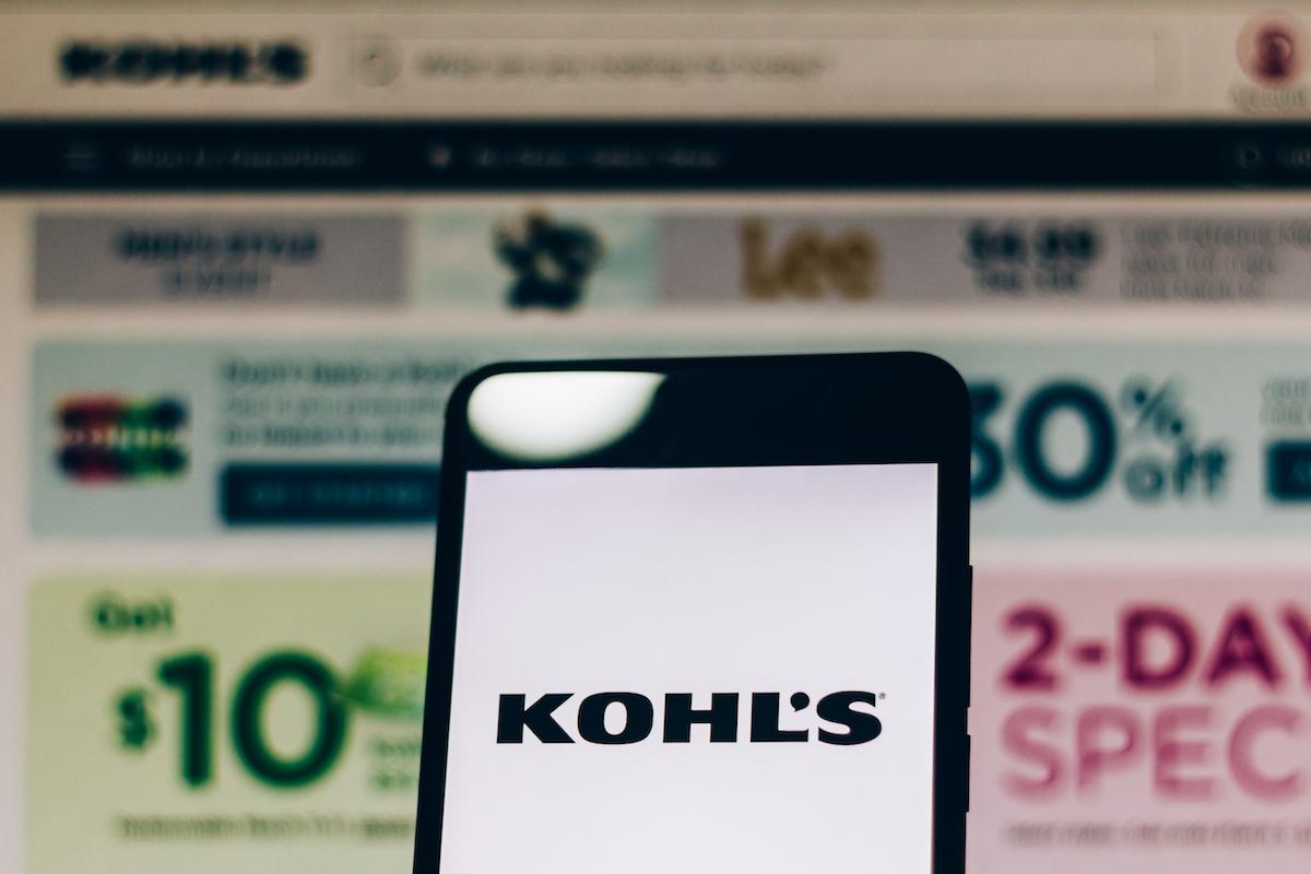 Kohl's website and smartphone app