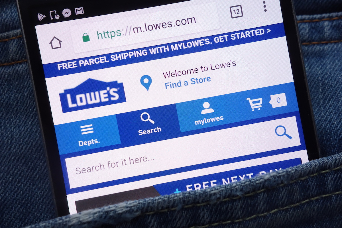 Lowe's mobile app