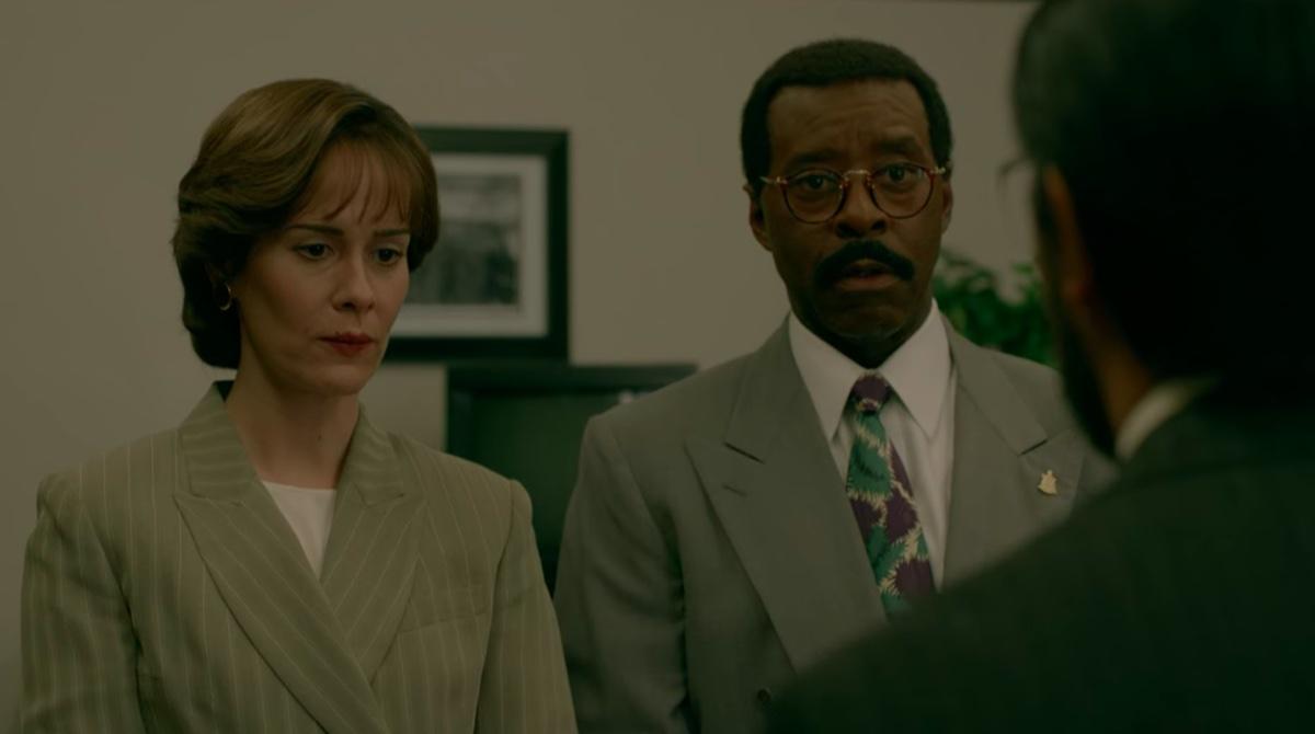 Sarah Paulson and Courtney B. Vance in People vs. OJ Simpson