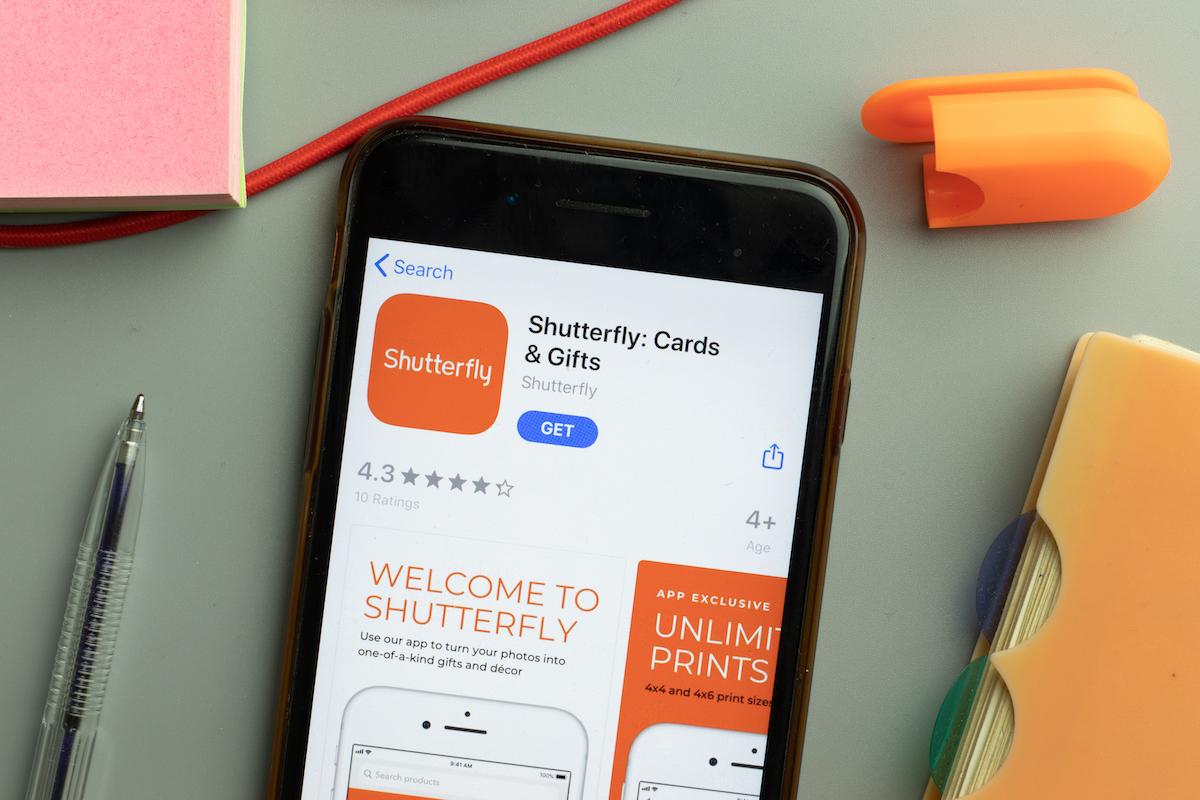 Shutterfly iPhone app