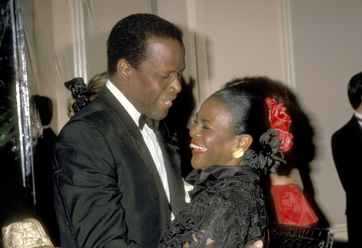 Sidney Poitier and Cicely Tyson