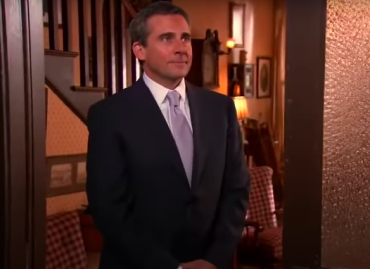 Steve Carell in The Office finale