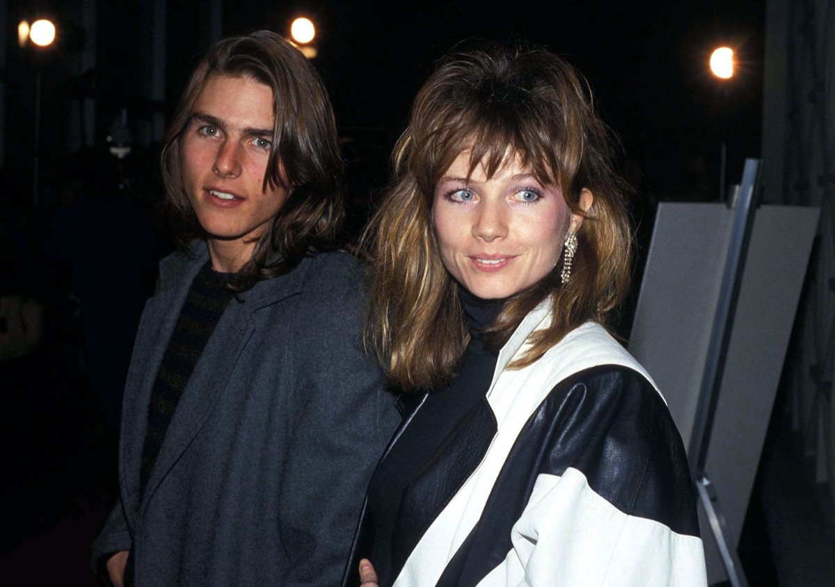 Tom Cruise and Rebecca DeMornay