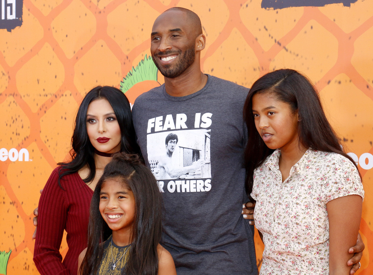 Vanessa Bryant Kobe Bryant and daughters