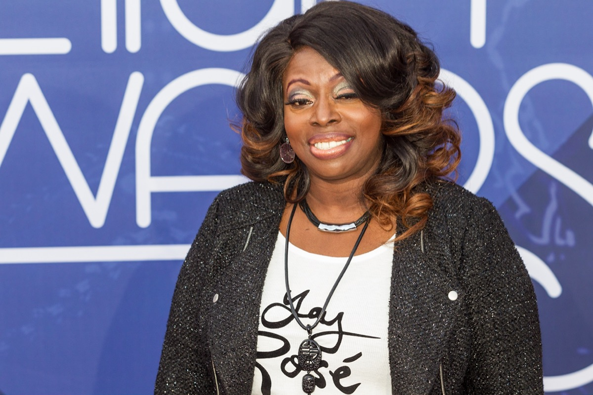 Angie Stone at the Soul Train Music Awards in 2016