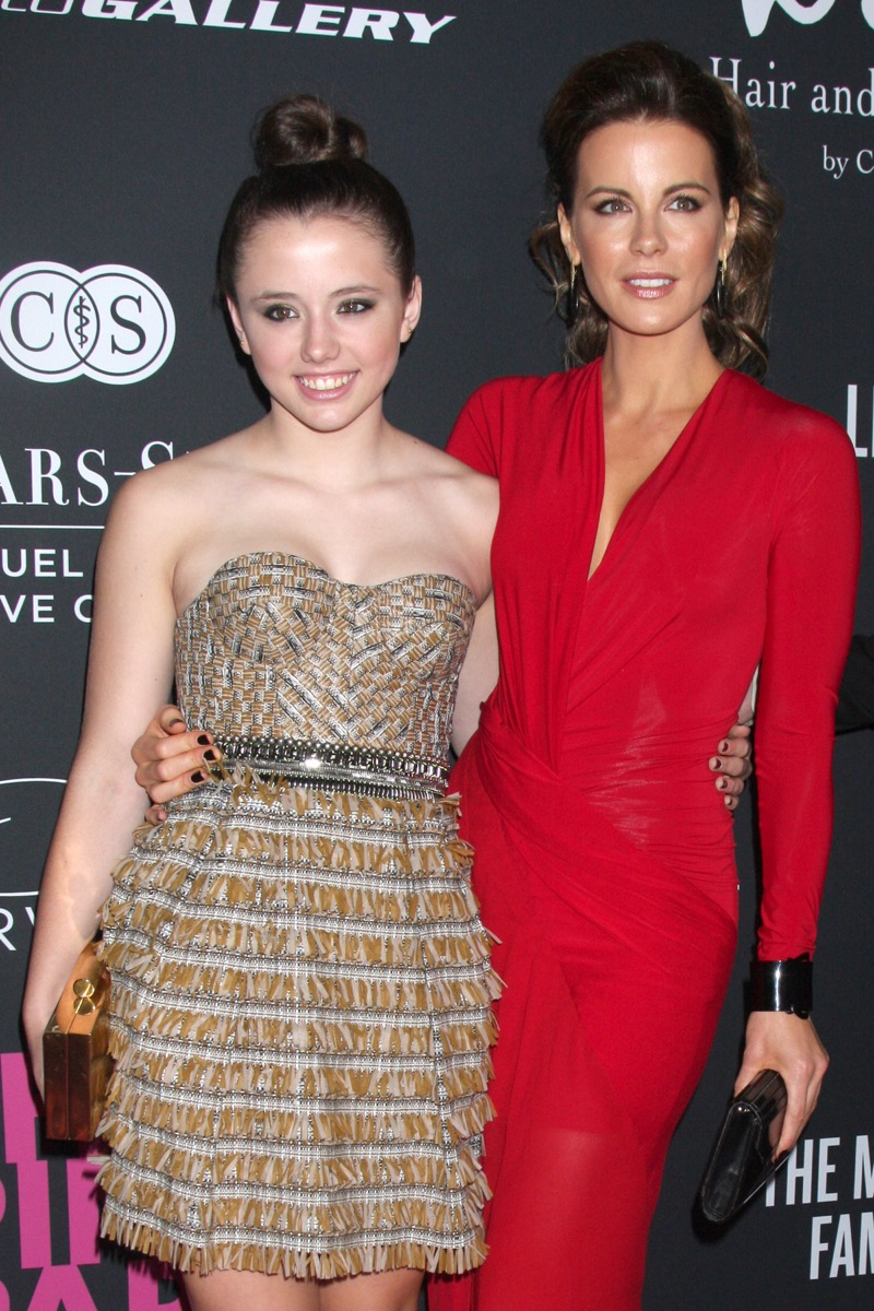 Kate Beckinsale and daughter Lily Sheen