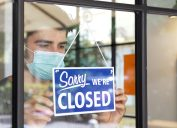 Small business closing during COVID-19 pandemic