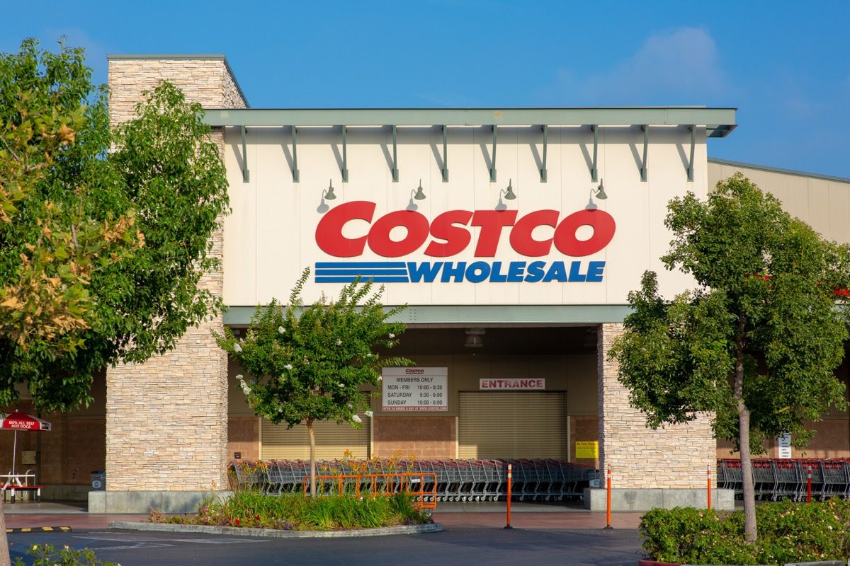 costco product recall storefront