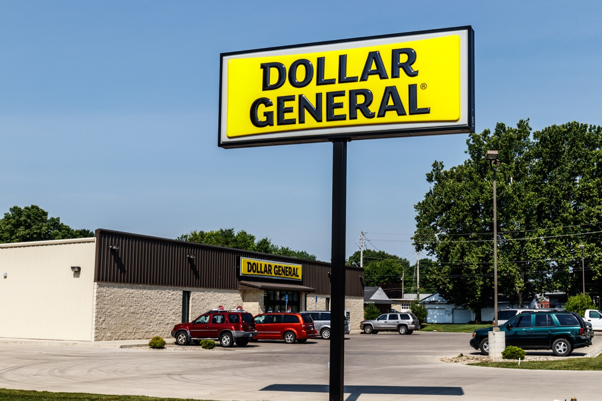 Logansport - Circa June 2018: Dollar General Retail Location. Dollar General is a Small-Box Discount Retailer III