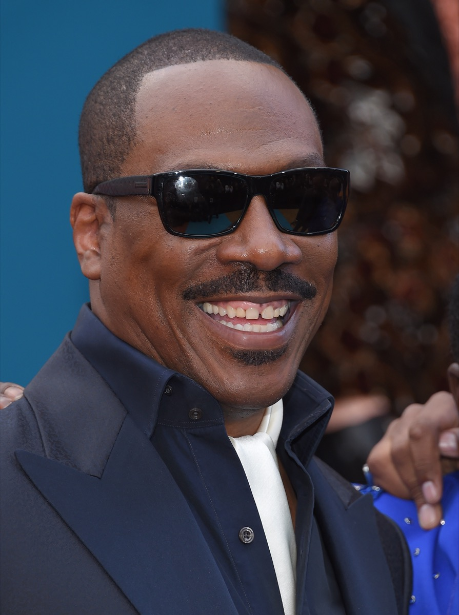 Eddie Murphy at the premiere of 'Dolemite Is My Name' in 2019