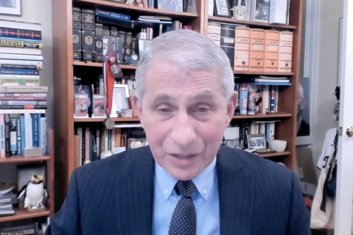 Anthony Fauci attends WHO executive board meeting