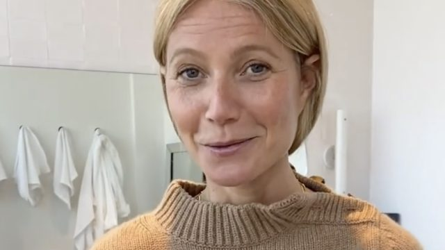 Gwyneth Paltrow vows to curse less in 2021 after swearing in new Instagram video for Goop.