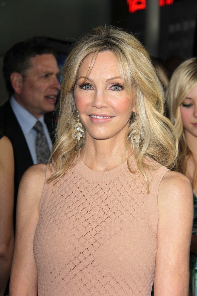 Heather Locklear at the premiere of 'Scary Movie V' in 2013