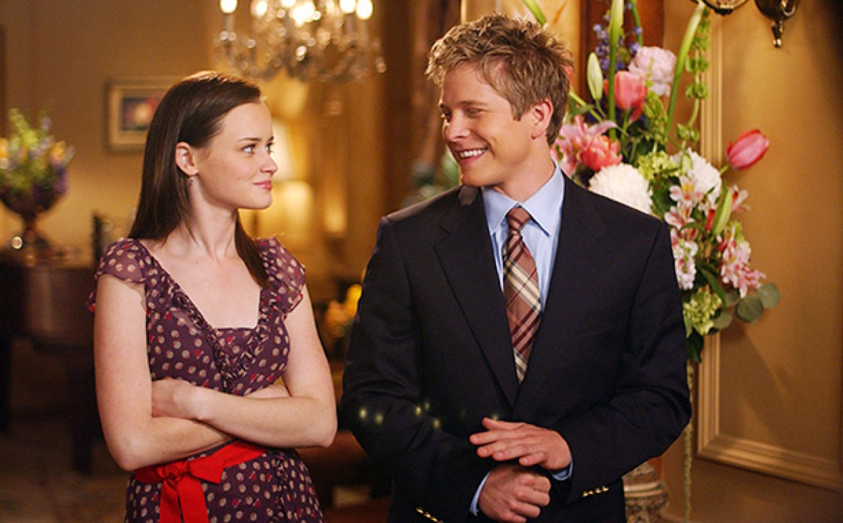 rory and logan on gilmore girls