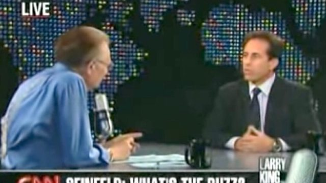 Jerry Seinfeld interview with Larry King