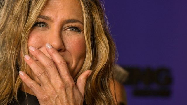"""Jennifer Aniston attends Apple TV+'s """"The Morning Show"""" World Premiere at David Geffen Hall on October 28, 2019 in New York City."""