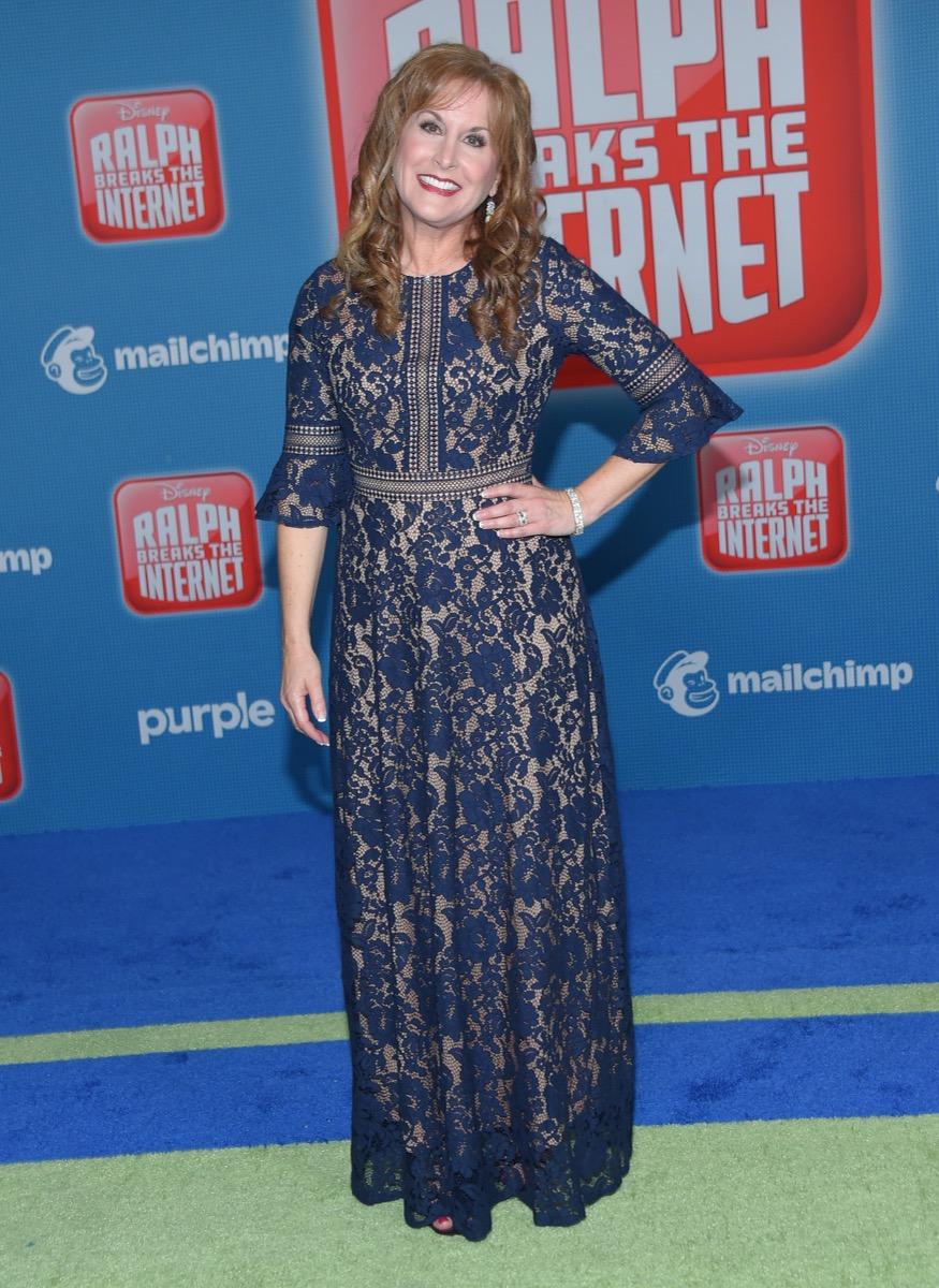 Jodi Benson at the premiere of 'Ralph Breaks the Internet' in 2018
