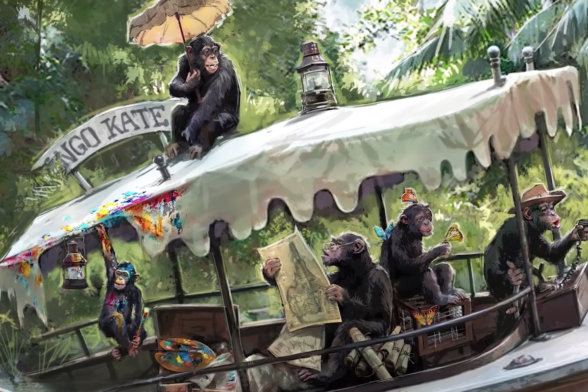 Disney previews the new Jungle Cruise ride