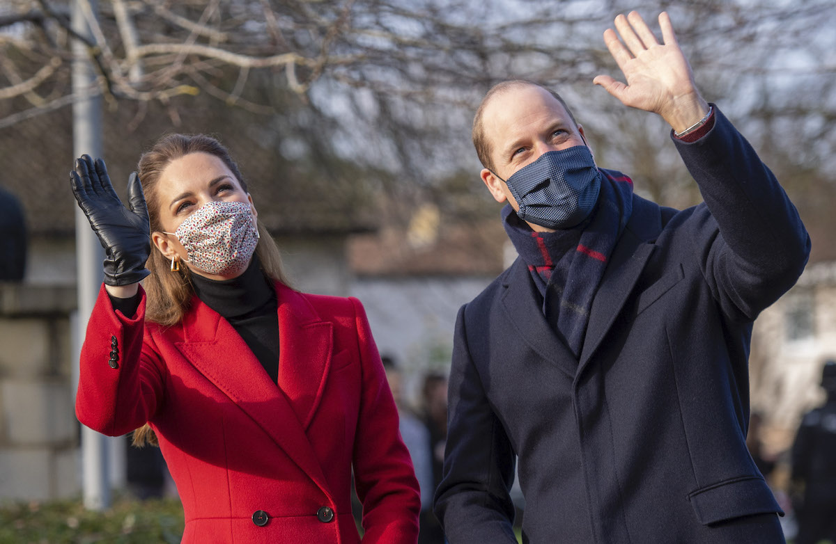 William and Kate visit Cleeve Court Residential Care, Cleeve Green, Twerton, Bath,The Duke and Duchess will pay tribute to the efforts of care home staff throughout the COVID-19 pandemic
