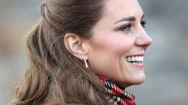 Catherine, Duchess of Cambridge visits Cardiff Castle on December 08, 2020 in Cardiff, Wales. The Duke And Duchess of Cambridge are undertaking a short tour of the UK ahead of the Christmas holidays to pay tribute to the inspiring work of individuals, organizations and initiatives across the country that have gone above and beyond to support their local communities this year