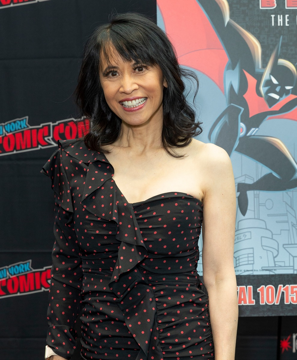 Lauren Tom at New York Comic Con in 2019