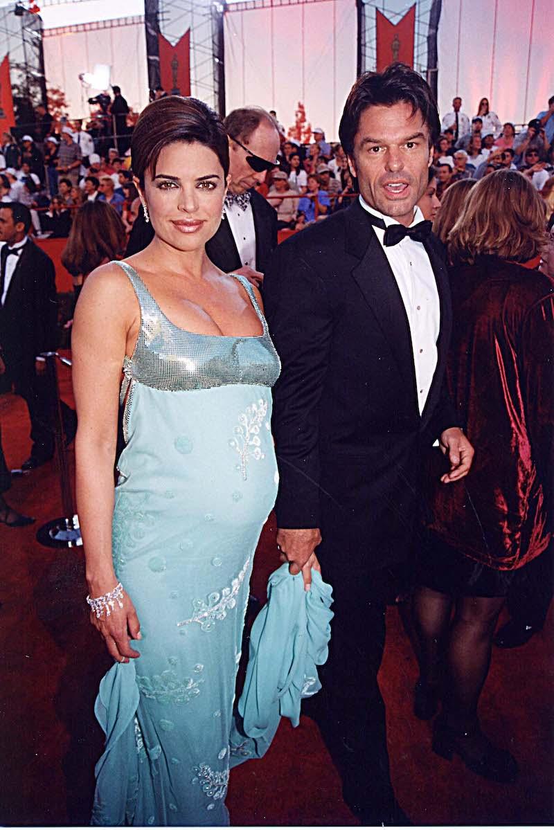 Lisa Rinna & Harry Hamlin at the 1998 Academy Awards in Los Angeles