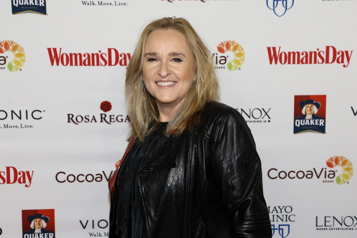 Melissa Etheridge at the Woman's Day Red Dress Awards in 2017