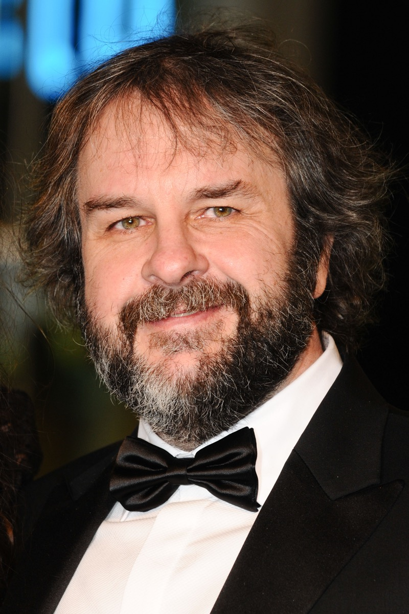 Peter Jackson at the premiere of 'The Hobbit: An Unexpected Journey' in 2012