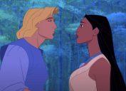 John Smith and Pocahontas in Disney's Pocahontas