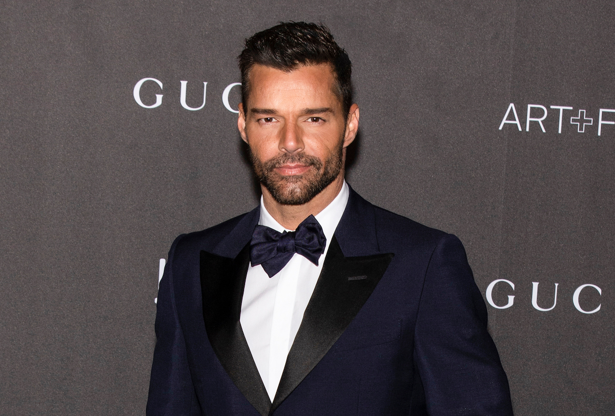 Ricky Martin arrives at the 2019 LACMA Art + Film Gala Presented By Gucci