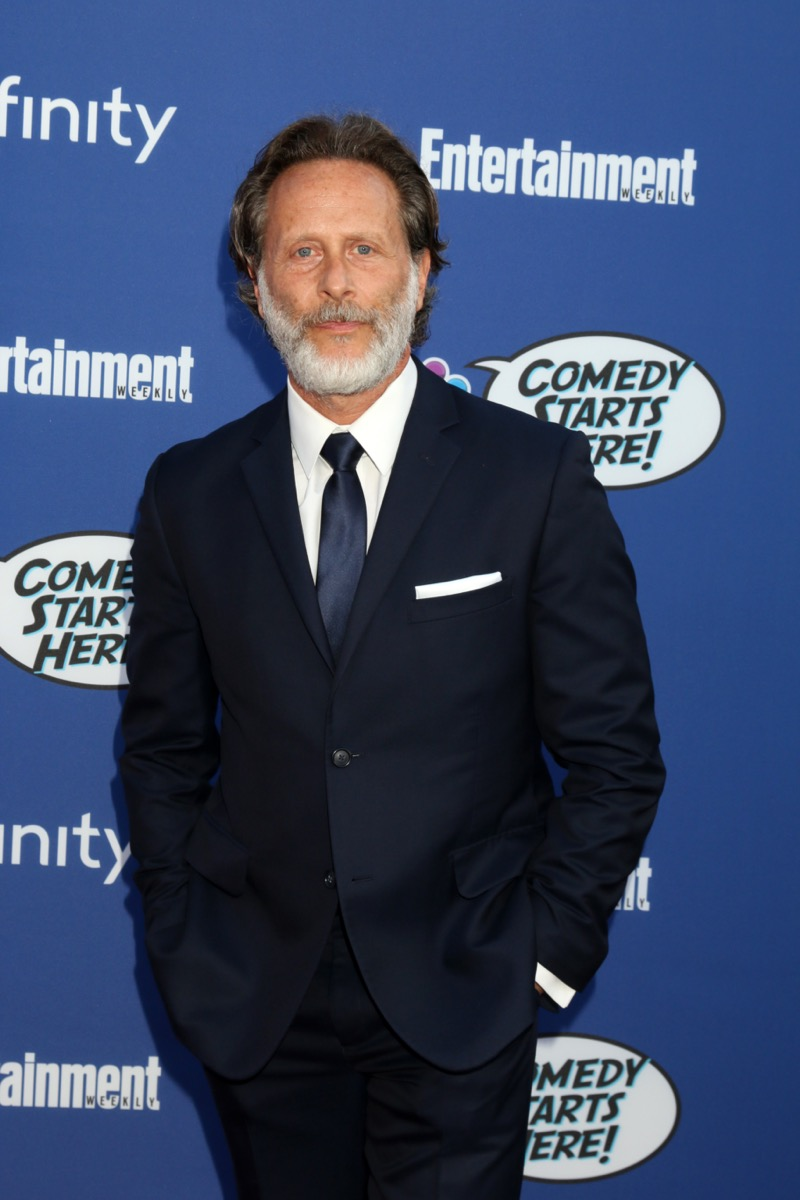 Steven Webber at the NBC Comedy Starts Here Event in 2019