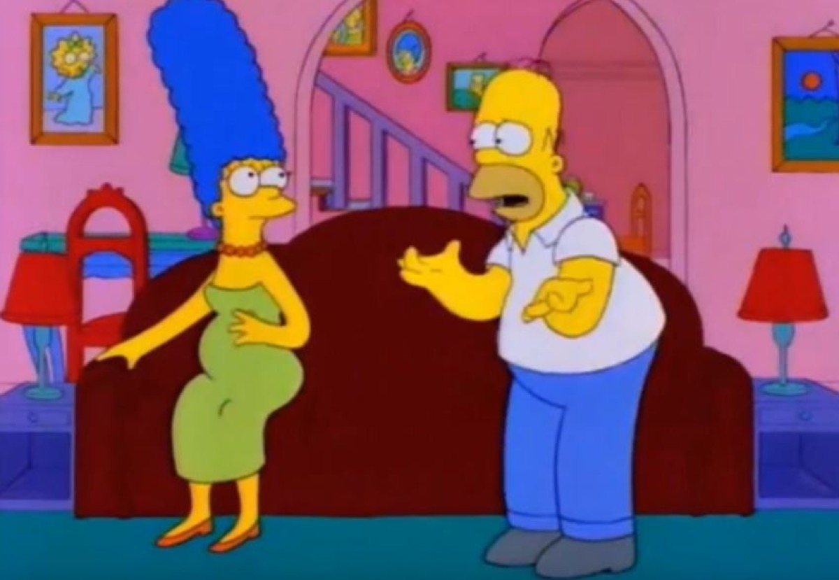 the Simpsons mistake Maggie