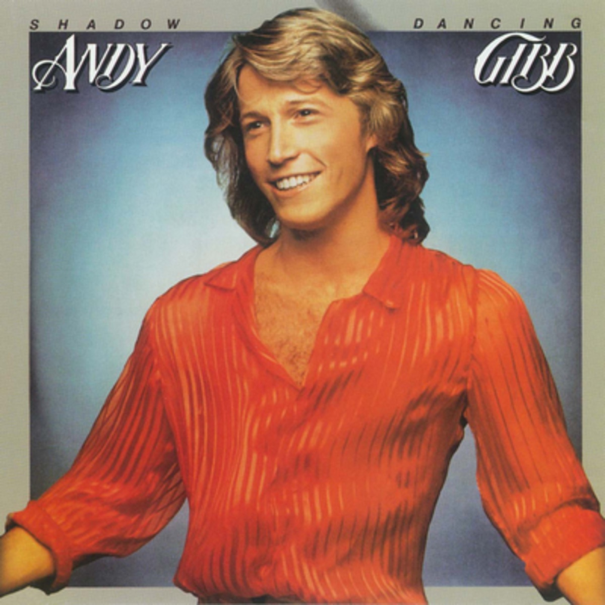 """Andy Gibb """"Shadow Dancing"""" album cover"""