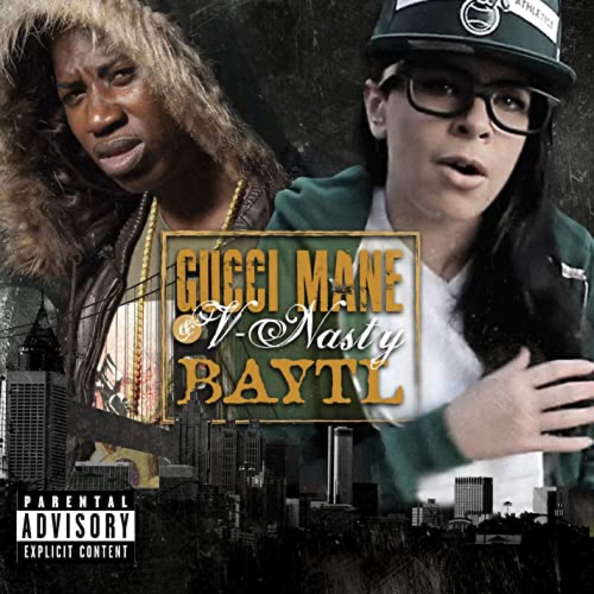 "The album cover of ""BAYTL"" by V-Nasty"