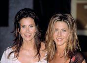 Courteney Cox and Jennifer Aniston in 2002