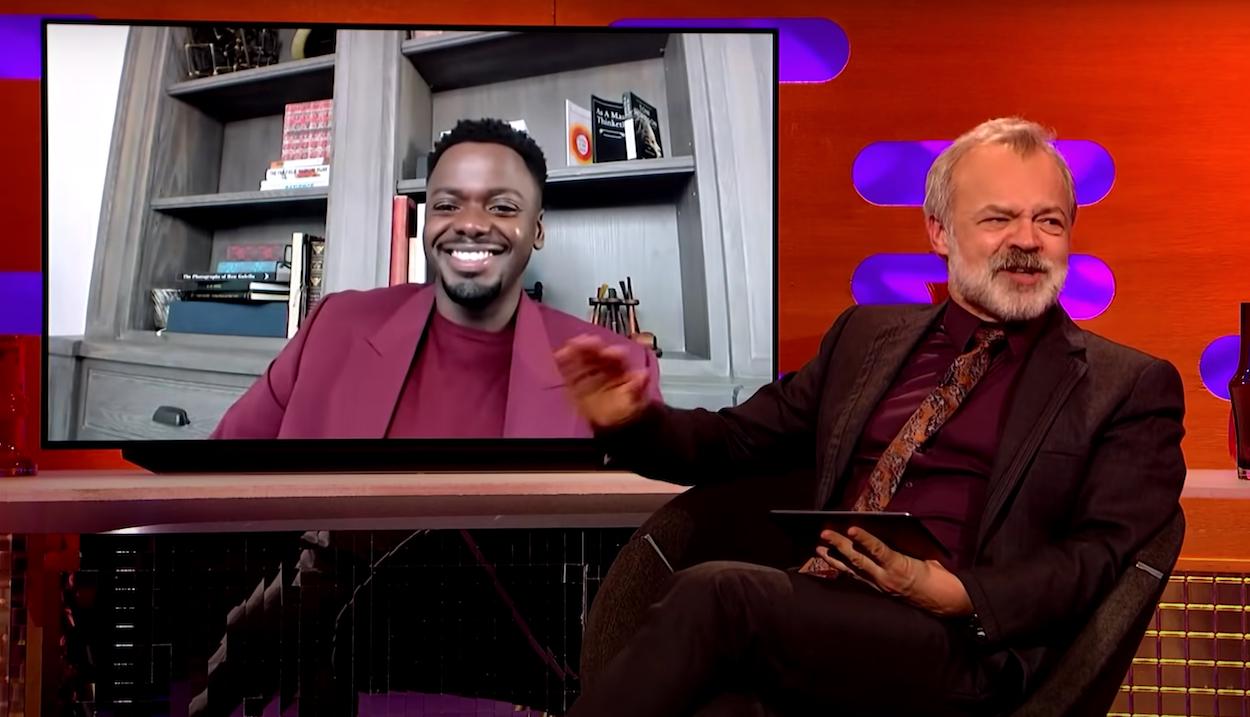 Daniel Kaluuya with Graham Norton on The Graham Norton Show