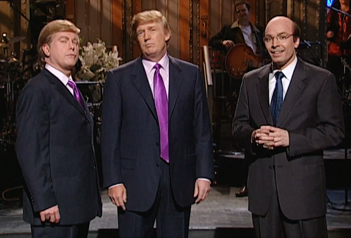Donald Trump hosting SNL in 2004