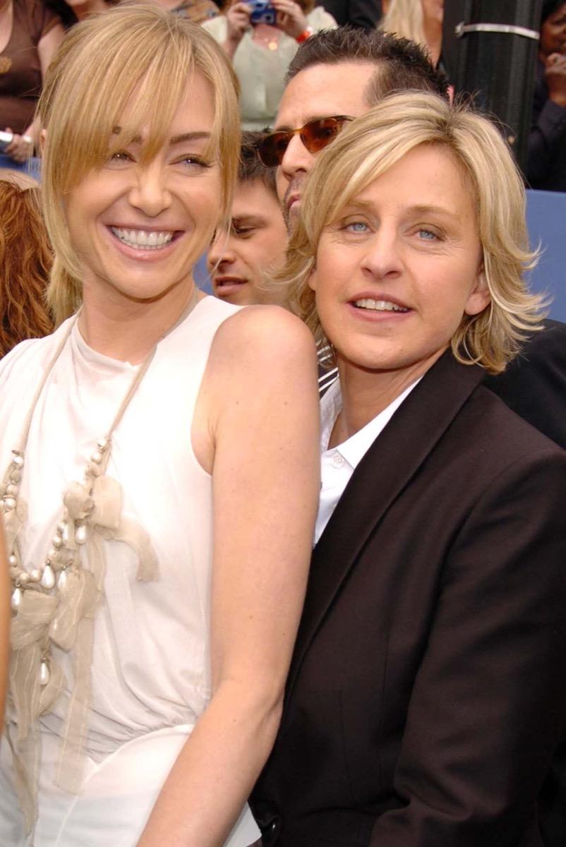 Portia de Rossi and Ellen DeGeneres in 2006
